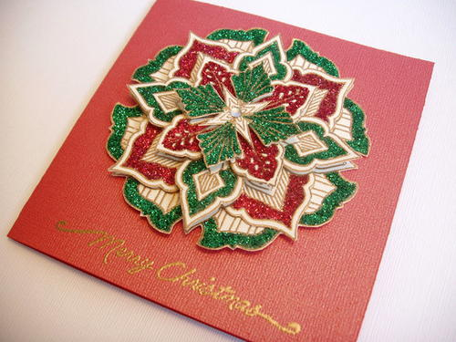 Christmas Medallion Card