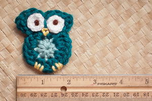 Tiny Owl Applique