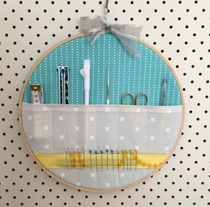 Embroidery Hoop Storage Tutorial