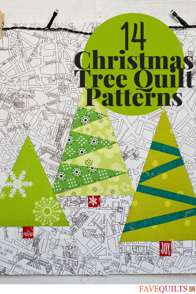 christmas tree quilt patterns