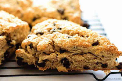 Good Morning Chocolate Chip Scones