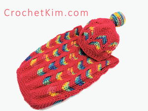 Circus Love Crochet Baby Cocoon and Hat