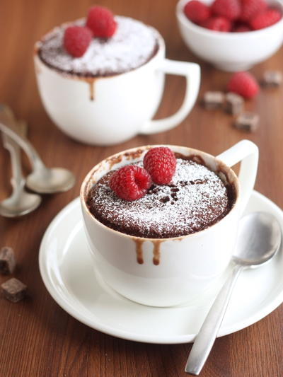 Two Minute Chocolate Mug Cake