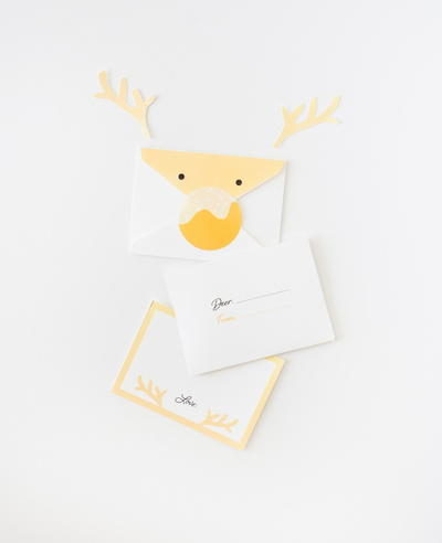 Reindeer Printable Envelope Set