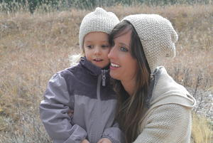 Mommy and Me Knit Hats
