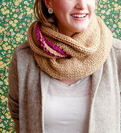 Lovely Knit Cowl Pattern
