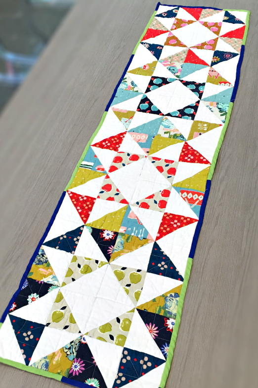 Charm Pack Modern Table Runner