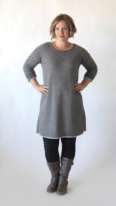 15b0fdf762 Flattering Sweater Dress Pattern