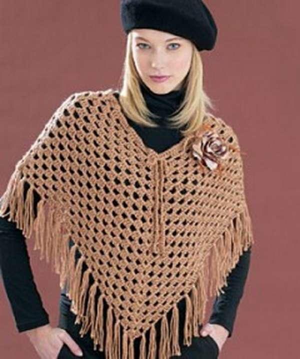 Ladies Poncho Sweaters