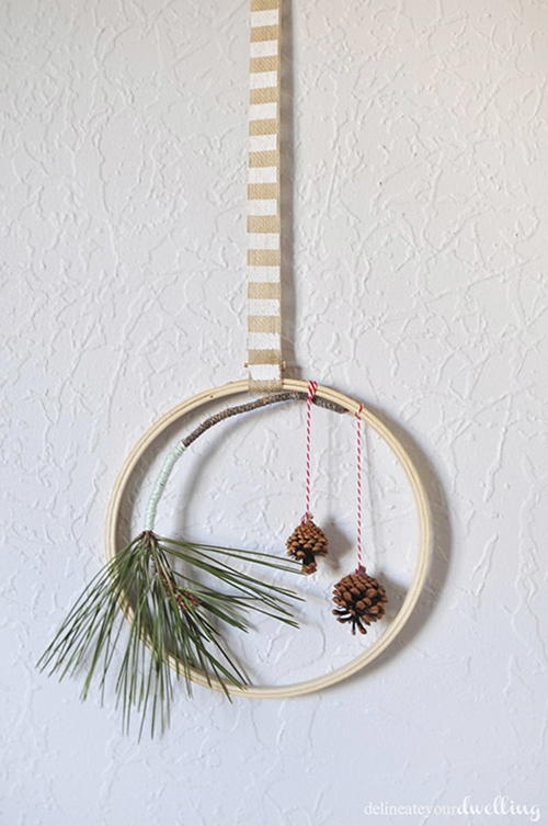 Evergreen Hanging Wall Decoration