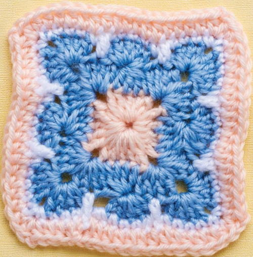 The Most Beautiful Crochet Granny Square Ever
