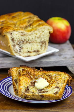 Apple Pie Cinnamon Swirl Bread