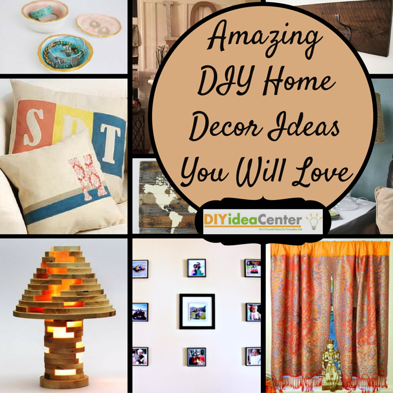 Amazing Home Decor Widgets: 31 Amazing DIY Home Decor Ideas You Will Love