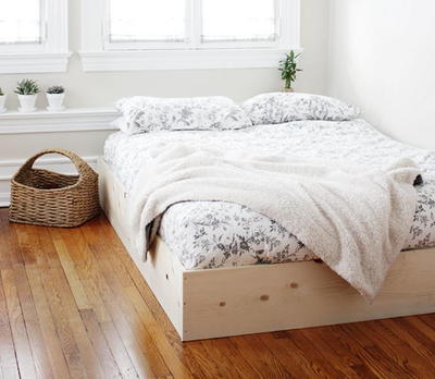 Simple DIY Bed Frame
