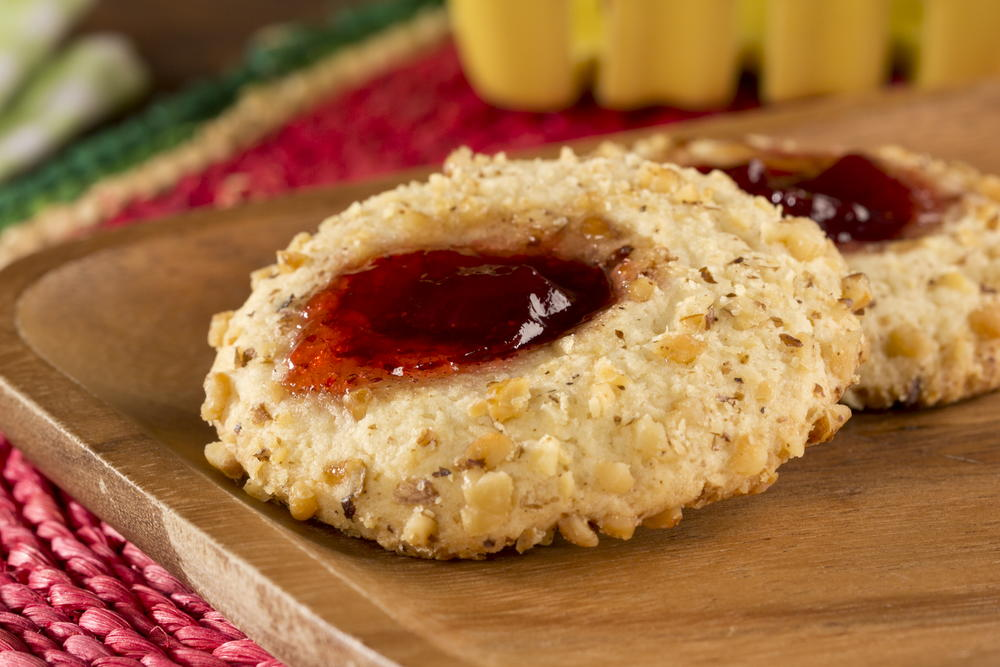 Old Fashioned Thumbprint Cookies