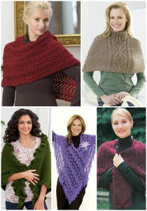 19 Favorite Free Shawl and Poncho Knitting Patterns