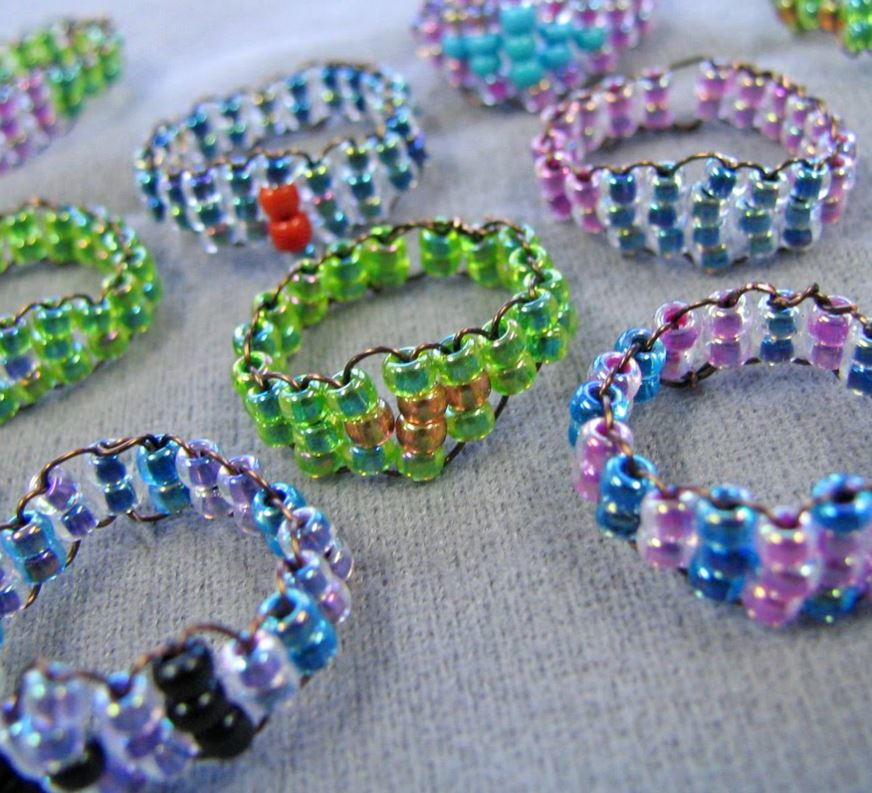 Making jewelry with seed beads 28 seed bead patterns for Natural seeds for jewelry making