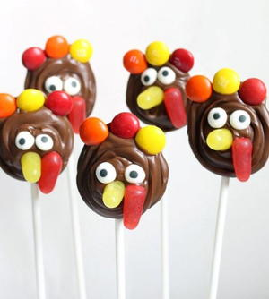 Chocolate Turkey Pops