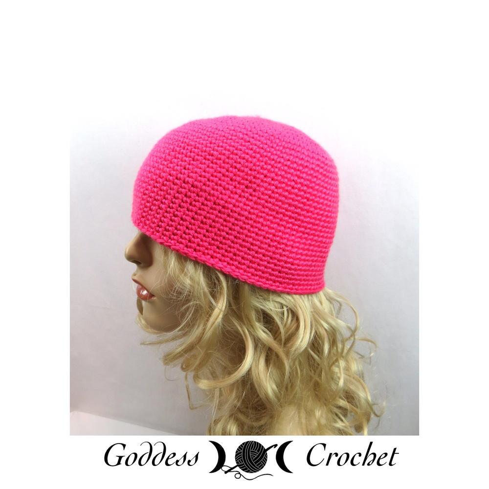Single Crochet Beanie For Beginners Allfreecrochet Com