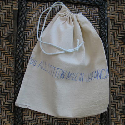 Calico DIY Drawstring Bags