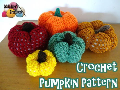 Super Crochet Pumpkin Pattern