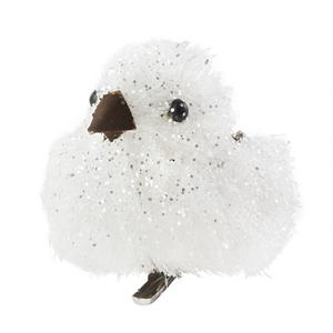 Assorted Mini Snow-Bird Ornament Set
