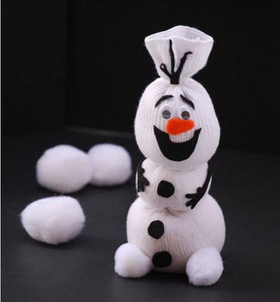 Olaf the Sock Snowman