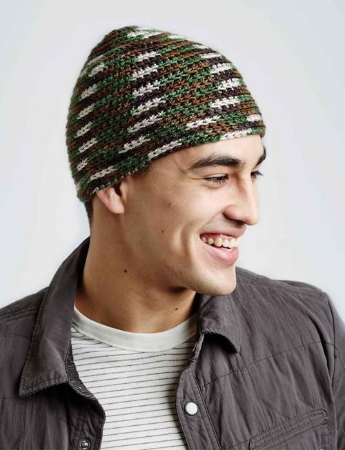 Camo Crochet Hat  750f57e6a30