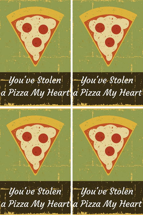 Youve Stolen a Pizza My Heart Valentine