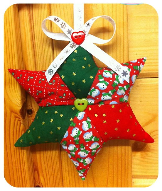 Scrappy Star Patchwork Pattern Allfreesewing Com