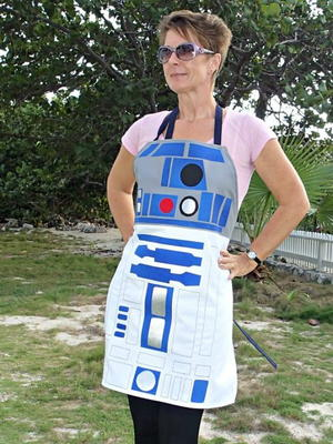 Star Wars R2D2 DIY Apron