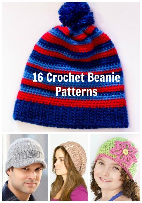 16 Crochet Beanie Patterns Favecrafts