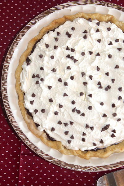 Old-fashioned Chocolate Cream Pie