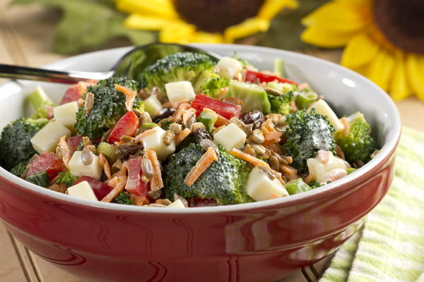EDR Anytime Broccoli Salad