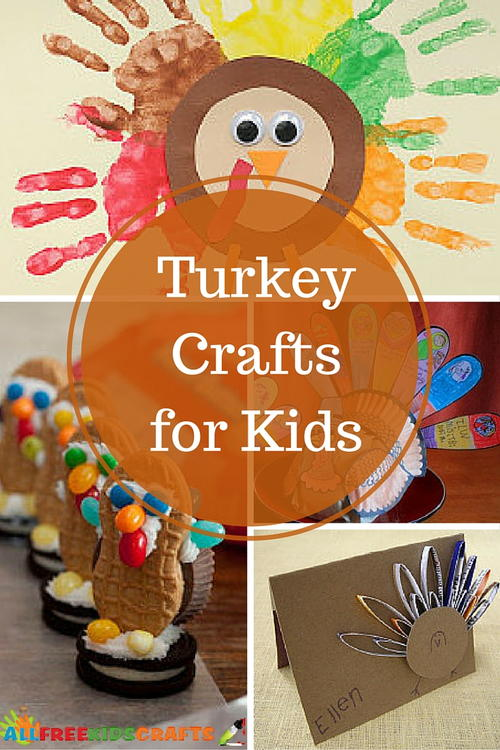 26 Turkey Crafts for Kids: Fantastic Kids Thanksgiving Activities