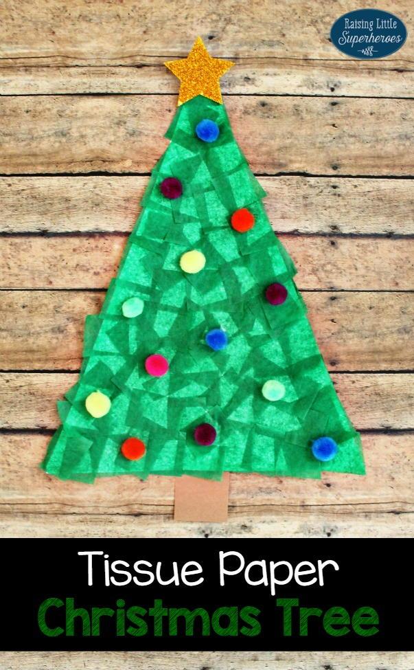 Mantel Christmas Trees