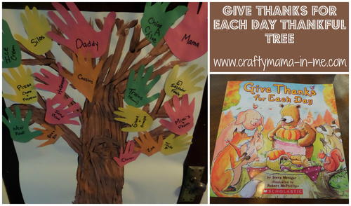Give Thanks for Each Day Thankful Tree