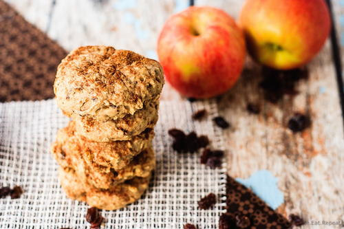 Apple Oatmeal Cookies for Breakfast