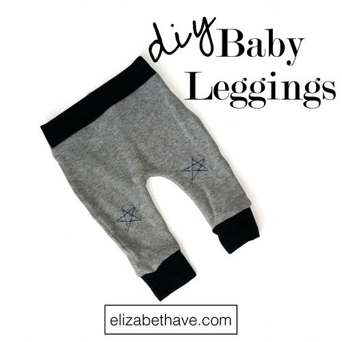 Baby Leggings DIY Harem Pants