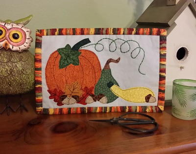 Happy Harvest DIY Mug Rug