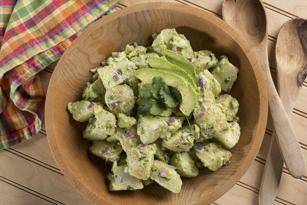 EDR Avocado Potato Salad