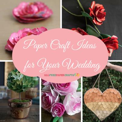 20 Paper Craft Ideas For Your Wedding Allfreepapercrafts Com