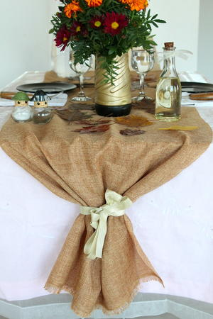 Plymouth Rock DIY Table Runner