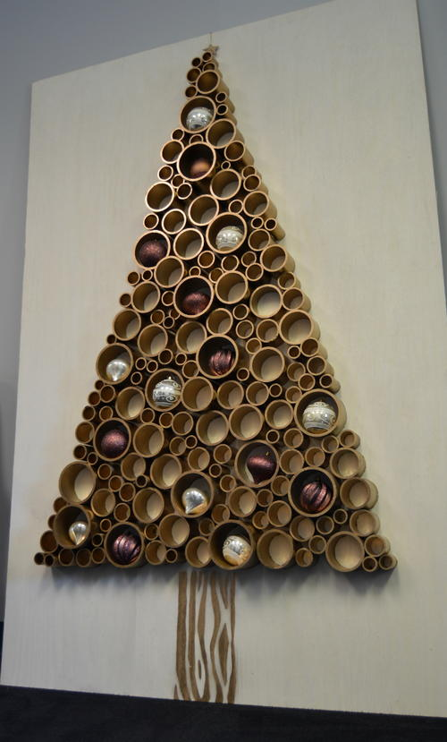 PVC Pipe Christmas Tree