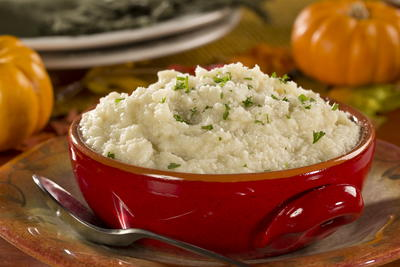 EDR Parmesan Mashed Cauliflower