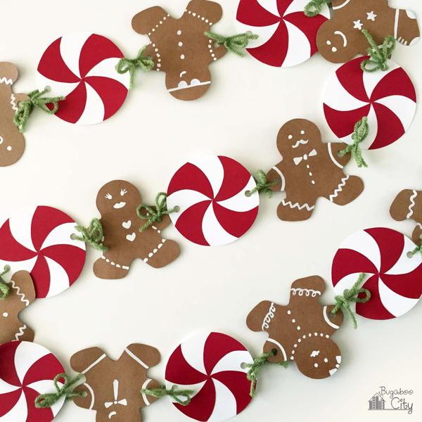 Super Sweet DIY Gingerbread Man Banner