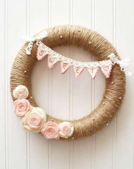 Sweetheart Valentine Wreath