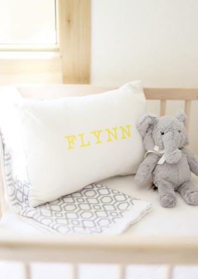 DIY Nursery Pillow