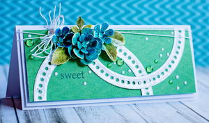 Sweet 3D Flower Greeting Card