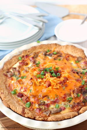 Easy Loaded Baked Potato Quiche